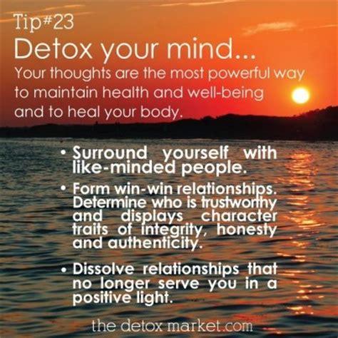detox  mind quotes quotesgram