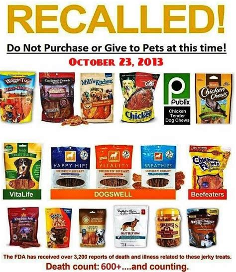 Pet Food Recall by Treats Now Safe Veterinary Secrets With Dr