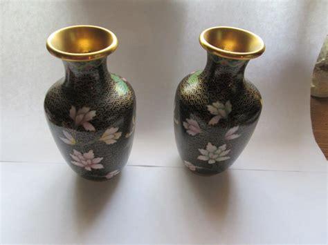 cloisonne pair vases for sale classifieds