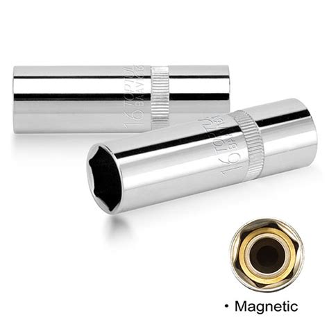 1 2 quot dr magnetic spark socket thin wall toptul the of professional tools