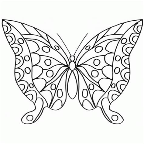 imagenes e mariposas para colorear mariposa grande colouring pages