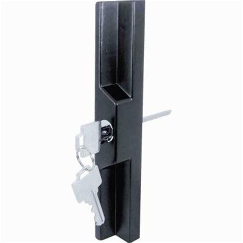 1106 Set Black prime line black aluminum and diecast sliding door handle