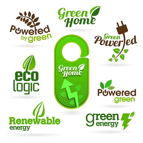 Eco And Bio Creative Logos Vector 03 Free Free Download Creative Eco Green Tree Logo Vector Free