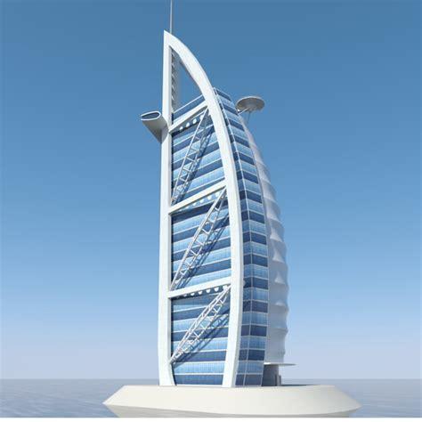 architecture model galleries famous architecture buildings fb burj al arab 3d model formfonts 3d models textures