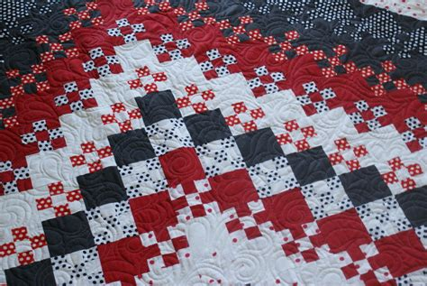 Blooming Nine Patch Quilt Pattern by King Size Blooming Nine Patch