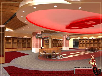 normans locker room ou s memorial stadium renovation nears completion newson6 tulsa ok news weather