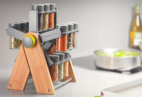 Cool Spice Racks by Ferris Deluxe Spice Rack Cool Material
