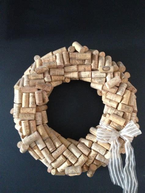 reverdesigns how to make a wine cork wreath