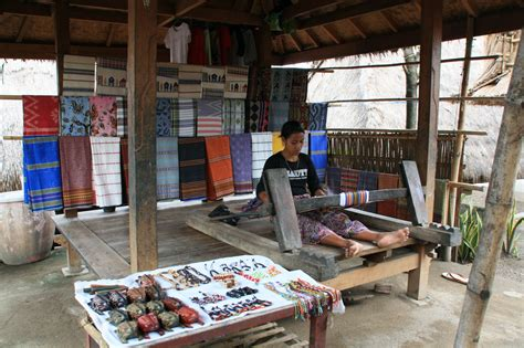 Kaos I Ve Been Lombok traditional tenun fabric lombok indonesia i ve been
