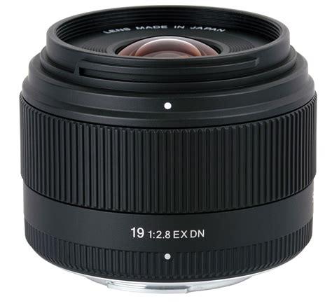 Lensa Sigma Wide Angle 19mm F2 8 sigma 19mm f 2 8 ex dn micro four thirds lens