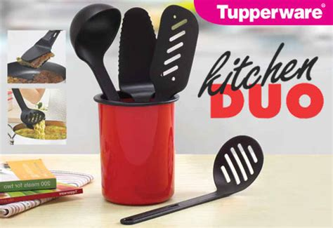 Tupperware Kitchen Duo promotion colorful of tupperware hargahot
