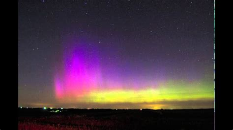 northern lights in june northern lights in nebraska june 22 2015