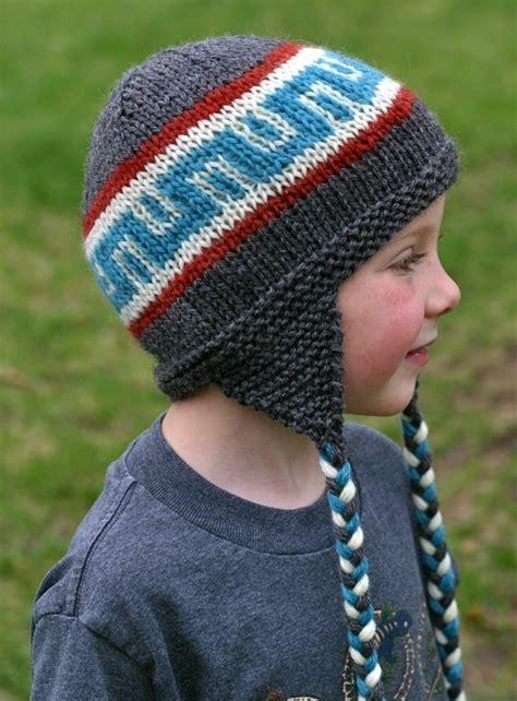 knitting pattern boys hat knitting pattern earflap hat knit hat pattern