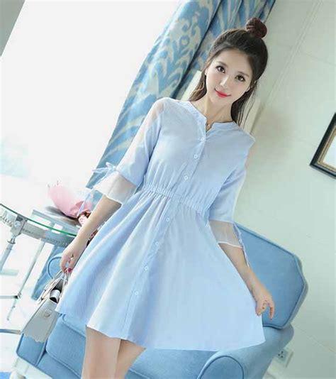 Dress Import Murah 81540 dress wanita cantik import murah 2017 model terbaru jual murah import kerja