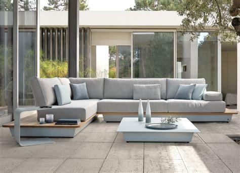 Lounge gartenm 246 bel f 252 r die terrasse modulares sofa und kaffeetisch