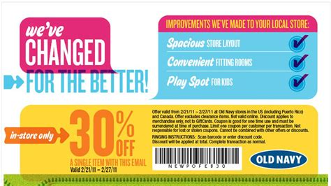 old navy coupons ca old navy canada save 30 off one item in store printable