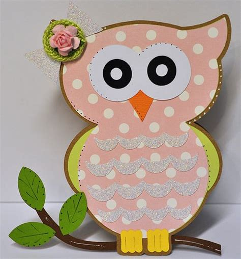owl card template the cutting cafe owl shaped card set template
