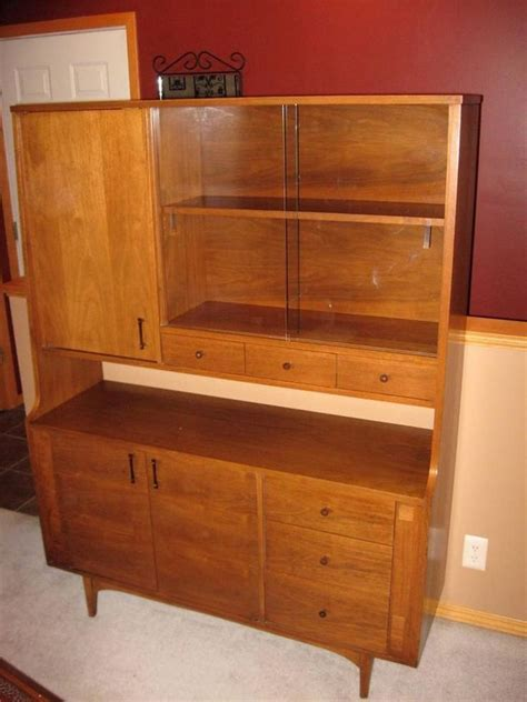 china cabinet with sliding glass doors kroehler mid century china cabinet with sliding glass door