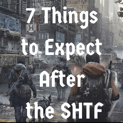 7 Items To Buy After by 7 Things To Expect After The Shtf