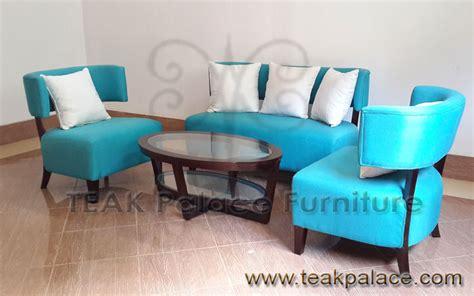 Sofa Ruang Tamu Kantor kursi tamu minimalis modern toledo set kayu jati murah