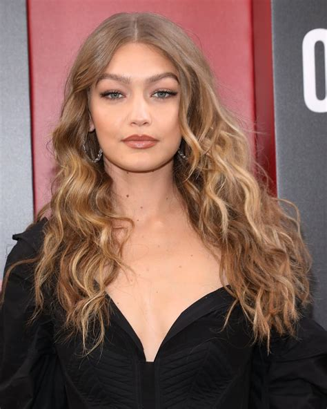 gigi hadid hair color gigi hadid hair color trends 2018 popsugar