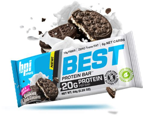 Top Ten Protein Bars by Bpi Sports Best Protein Bars At Bodybuilding Best