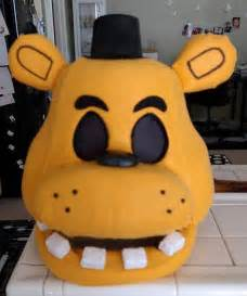Freddy fnaf costume mask movable jaw five nights at freddy s