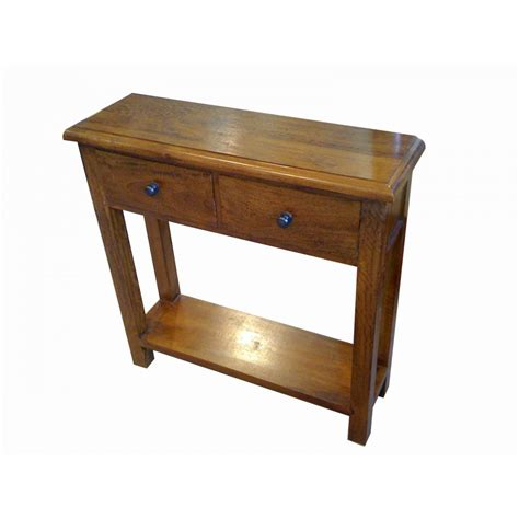 Mango Wood Console Table Mini Console Table Solid Mango Wood Sjs Provence Furniture Range