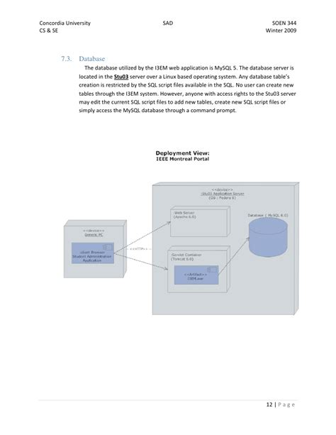 software architecture document software architecture document