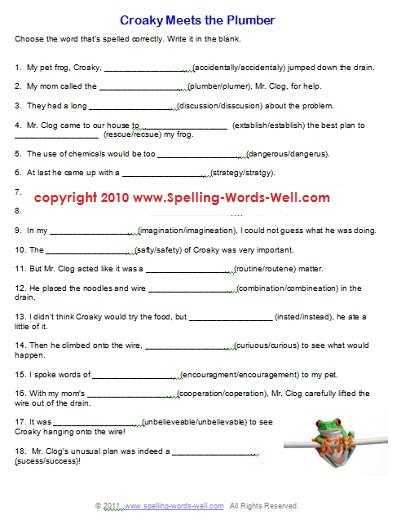 7th Grade Worksheets Free Printable