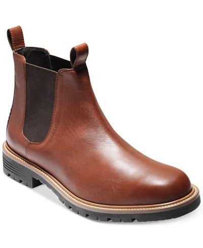 cole haan s grantland waterproof chelsea boots all