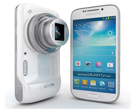 Samsung Zoom Samsung Galaxy S4 Zoom Price Review Specifications Features Pros Cons