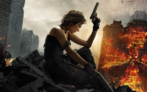 resident evil   final chapter  wallpapers hd