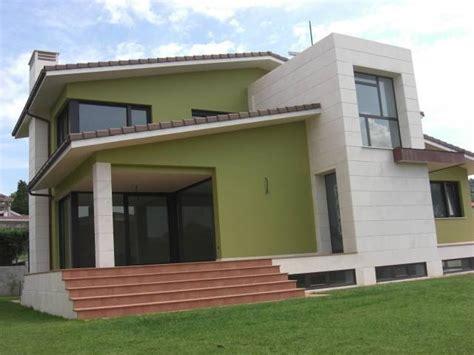 imagenes fachadas verdes dise 241 os de fachadas para casas sencillas elegantes