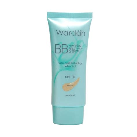 Harga Wardah Nature Daily Witch Hazel jual wardah everyday bb 30ml