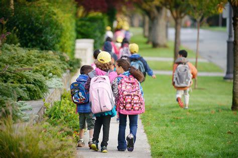wednesday is international walk to school day