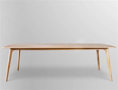 Skandinavische Tische etro scandinavian oak dining table 240l x 100w x 74h