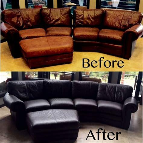 cute   clean leather sofa  vinegar portrait