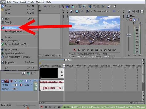 format video sony vegas how to save a project in youtube format on sony vegas 13