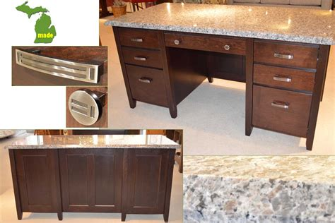 Home Office Furniture Michigan Michigan Granite Executive Desk Jasen S Furniture Since 1951