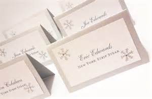 items similar to cards winter wedding snowflake place cards tented table assignments