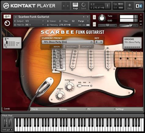 kontakt 5 full version price kvr scarbee funk guitarist by native instruments funk