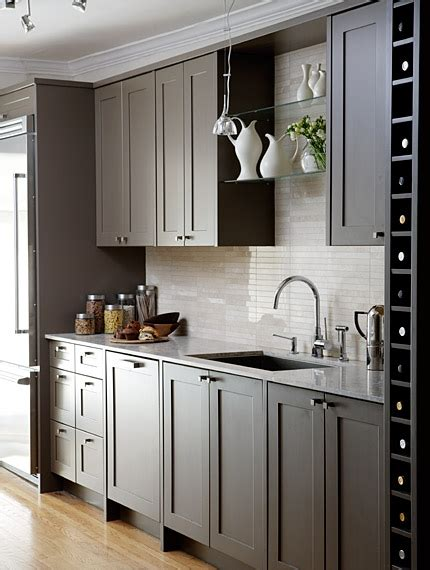 gray shaker kitchen cabinets gray cabinets contemporary kitchen sarah richardson