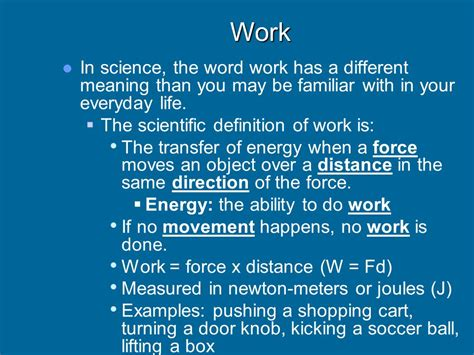 scientific biography definition simple machines unit ppt video online download
