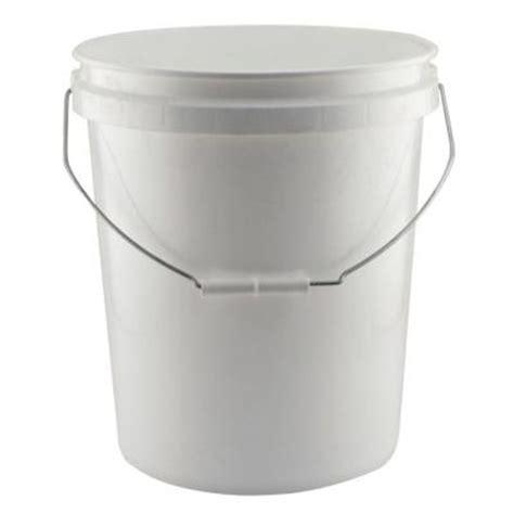 leaktite 5 gal 5gl white pail the home depot