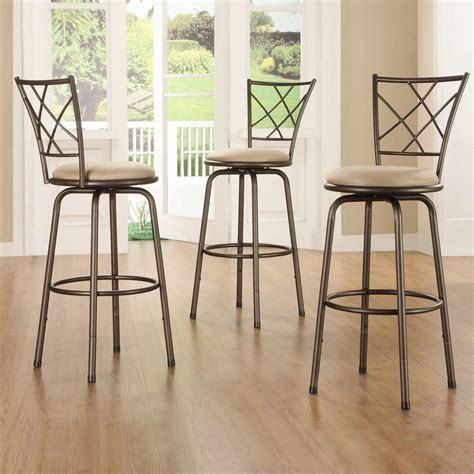 home decorators collection bar stools home decorators collection adjustable height brown swivel