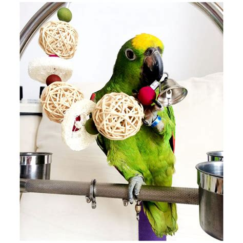Handmade Bird Toys - handmade bird toys with bell free shipping worldwide
