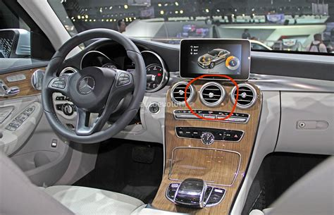 mercedes benz g class interior 2015 did this guy break the c class w205 interior air vent