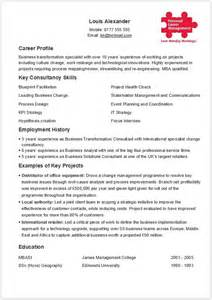 one page cv template only suitable to job seekers who