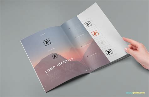 adobe illustrator templates the muse brand guide template zippypixels